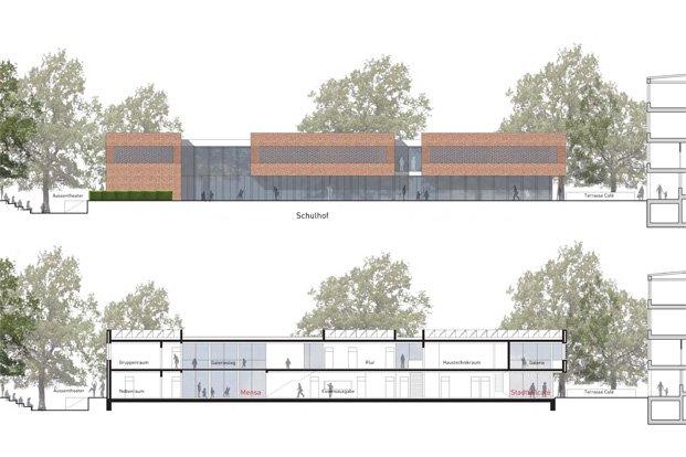 Architektur schulerweiterung kiel gueldenzopf rohrberg architektur design - Architektur kiel ...