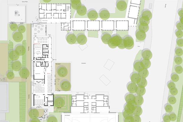 architektur schulerweiterung kiel gueldenzopf rohrberg. Black Bedroom Furniture Sets. Home Design Ideas
